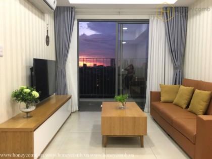 2 bedrooms apartment with midlle floor in Masteri Thao Dien