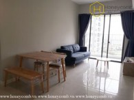 The 2 bedrooms-apartment with simple furniture in Masteri An Phu
