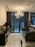 The 2 bedrooms-apartment is so elegant in Vinhomes Golden River