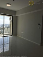 The unfurnished 2 bedrooms-apartment in Masteri An Phu