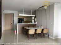 The modern 3 bedroom-apartment is still available for leasing in The Estella Heights