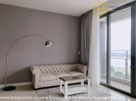 The 2 bedrooms-apartment is cozy and modern in The Nassim