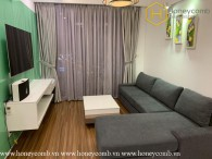 Awesome ! This is a colorful and modern 2 beds- apartment in Thao Dien Pearl