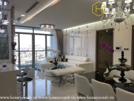 The 4 bedrooms-apartment is so luxurious and royal in Vinhomes Central Park