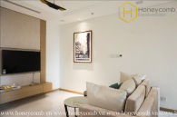 This 2 bedrooms-apartment with hitech style is very hot in Vinhomes Central Park