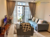 The rustic 3 bedrooms-apartment is still available in Vinhomes Central Park