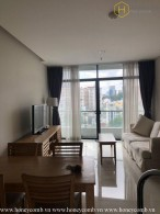 The 1 bedroom apartment is simple but very convenient in City Garden