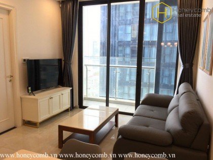 The 2 bedrooms-apartment is very beautiful in Vinhomes Golden River