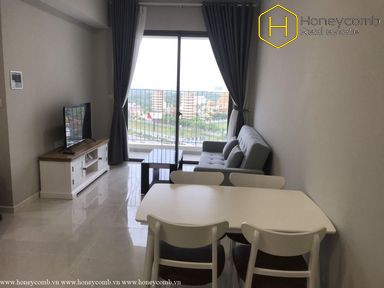 The 2 bedrooms-apartment is very cozy in Masteri An Phu
