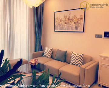 The 1 bedrooms with urban style is waiting for you in Vinhomes Golden River