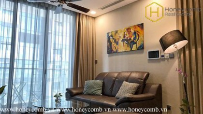 The 2 bedrooms-apartment with urban style in Vinhomes Golden River