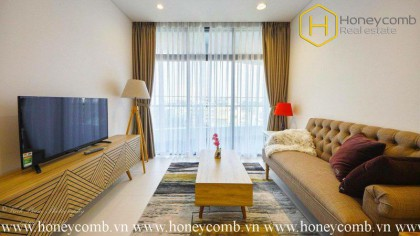The spacious 1 bedroom-apartment in City Garden