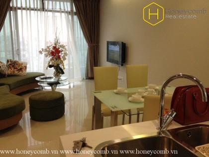 1 bedroom apartment with middle floor in City Garden for rent