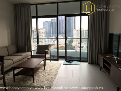 Wonderful 1 bedroom apartment with nice view in City Garden