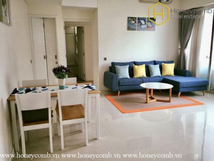 The 2 bedrooms-apartment is simple but very impressive in Estella