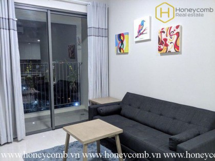 How do you feel about this cozy 2 bedrooms-apartment in Masteri An Phu ?