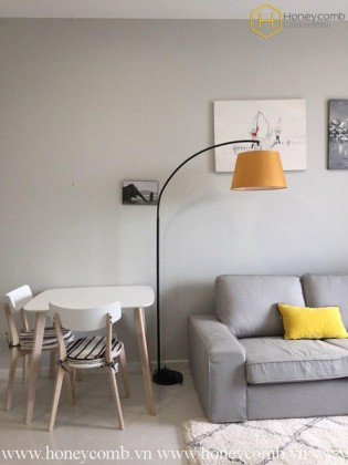 This artistic 2 bedrooms-apartment for leasing in Masteri An Phu