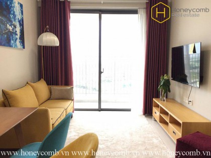 The 1 bedroom-apartment with maverick style is new in Masteri An Phu
