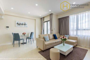 Nice furniture 2 bedrooms apartment in Masteri Thao Dien