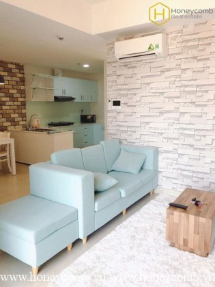 Good view 2 beds apartment with open kitchen in Masteri Thao Dien