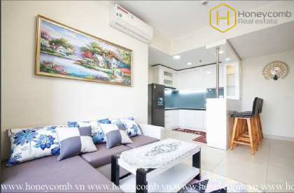Fully furnished 2 bedrooms apartment in Masteri Thao Dien for rent