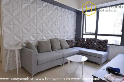 The 2 bedrooms-apartment is so cozy and spacious in Masteri Thao Dien