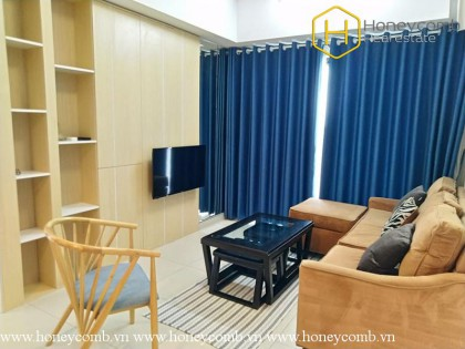 The elegant 2 bedrooms-apartment in Masteri Thao Dien