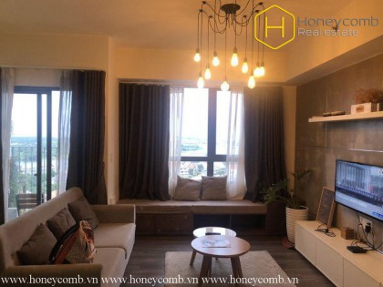 The wonderful 2 bedrooms-apartment for leasing in Masteri Thao Dien
