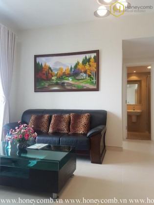 The 2 bedrooms-apartment with rustic style in Masteri Thao Dien