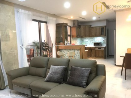 Penthouse 4 beds apartment with luxury decoration in Masteri Thao Dien