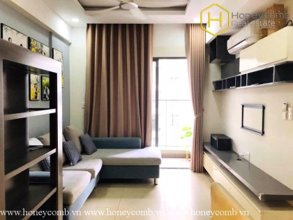 The 2 bedrooms apartment is so wonderful in Masteri Thao Dien