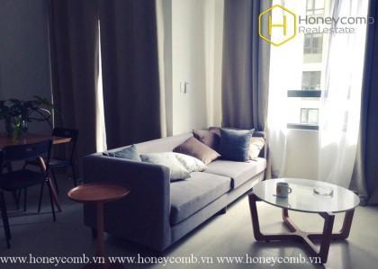 The 2 bedrooms apartment is very impressive in Masteri Thao Dien