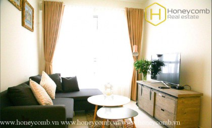 The 1 bedroom apartment is simple but very convenient in Masteri Thao Dien