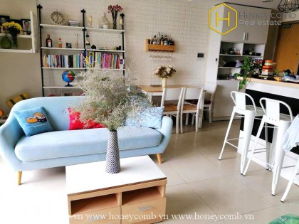 Contemporary fully furnished 2 bedrooms apartment in Masteri Thao Dien