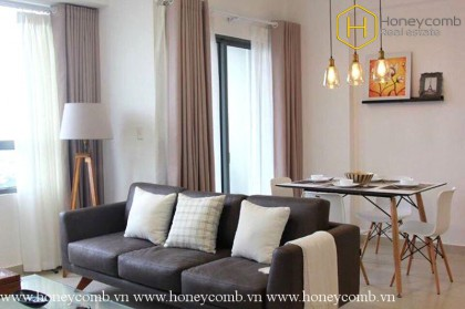 Brand new 2 beds apartment with nice view in Masteri Thao Dien
