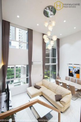 Modern decorated with 2 bedrooms duplex apartment in Vista Verde