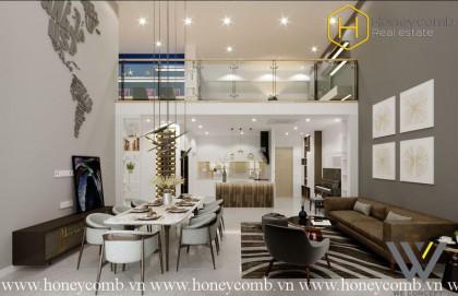 The 4 bedrooms-apartment with impressive decoration in Vista Verde