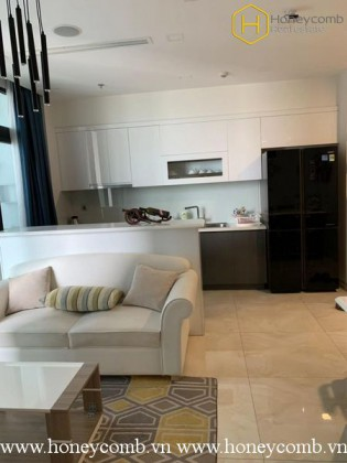 The 2 bedrooms-apartment with modern European style in Vinhomes Golden River