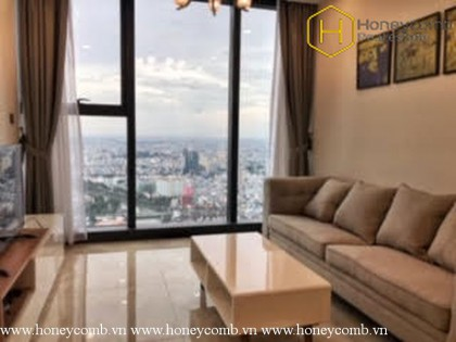 The 1 bedroom-apartment with country architecture in Vinhomes Golden River