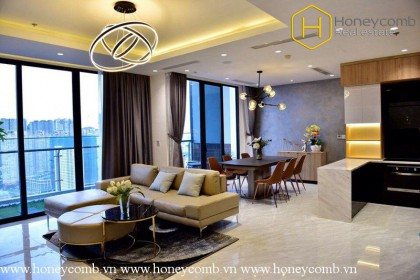 Amazing! The luxurious 2 bedroom apartment at the top of Vinhomes Golden River
