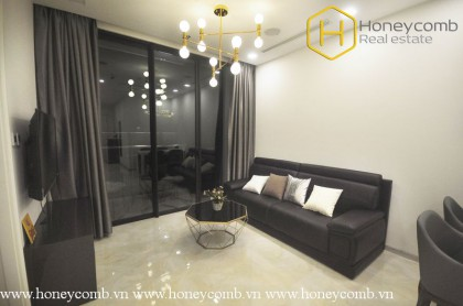 The 2 bedrooms-apartment with Neoclassical style in Vinhomes Golden River