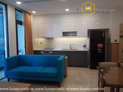 The colorful and cozy 2 bedrooms-apartment in Vinhomes Golden River