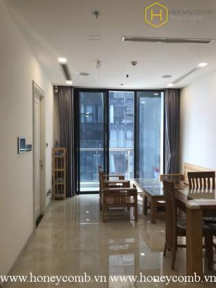 The delicate 2 bedrooms-apartment in Vinhomes Golden River