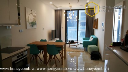 This stunning 1 bedroom-apartment for leasing in Vinhomes Golden River