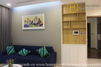 The 2 bedrooms-apartment with fresh style in Vinhomes Central Park