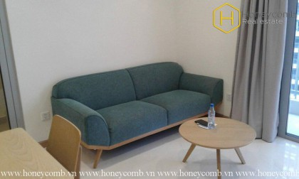 The 2 bedrooms-apartment with elegant style in Vinhomes Central Park