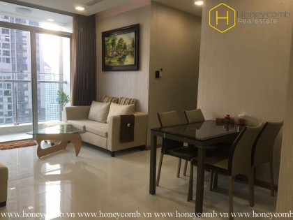 The 2 bedrooms-apartment with rustic style in Vinhomes Central Park