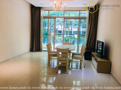 Simple style with 3 bedrooms apartment in the Vista for rent
