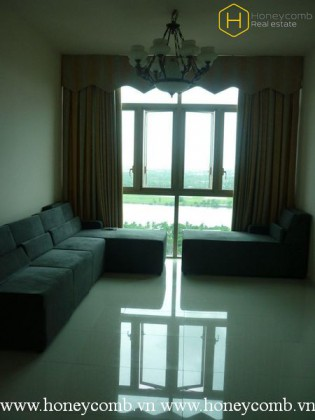 The 2 bedrooms-apartment is simple but convenient in The Vista