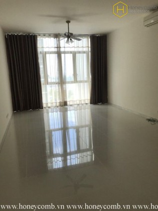 The unfurnished 3 bedrooms-apartment in The Vista